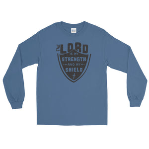 Strength and Shield Long Sleeve T-Shirt