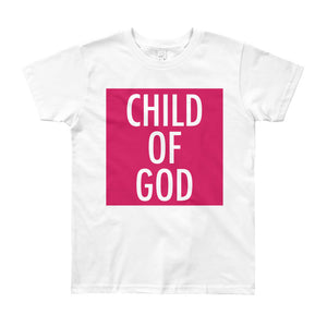 Child of God in Berry Youth Tee