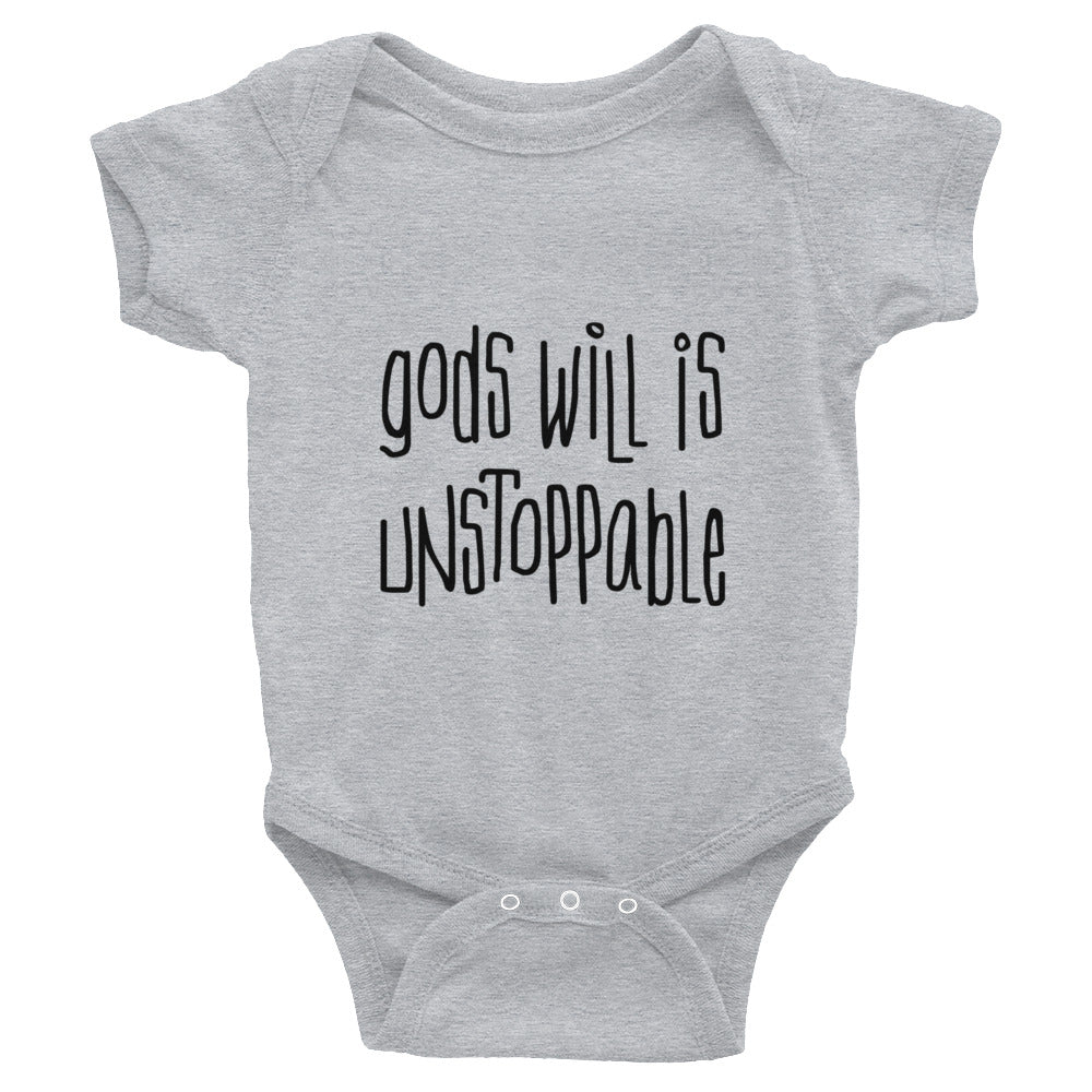 Unstoppable onesie