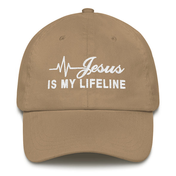 Jesus is My Lifeline Hat