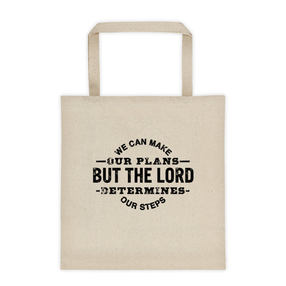 The Lord Determines Tote bag