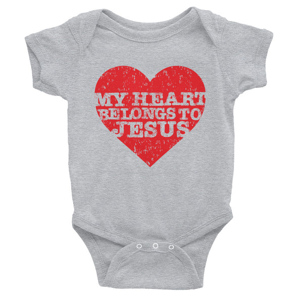 My Heart Belongs Love Infant Bodysuit