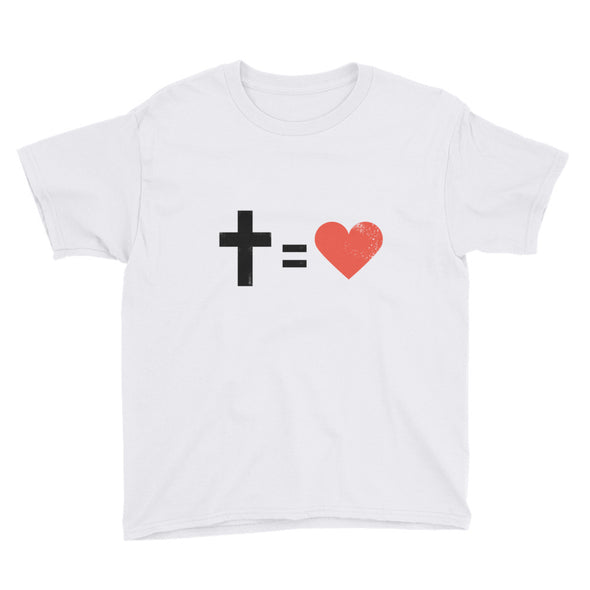 Equals Love Youth Short Sleeve T-Shirt
