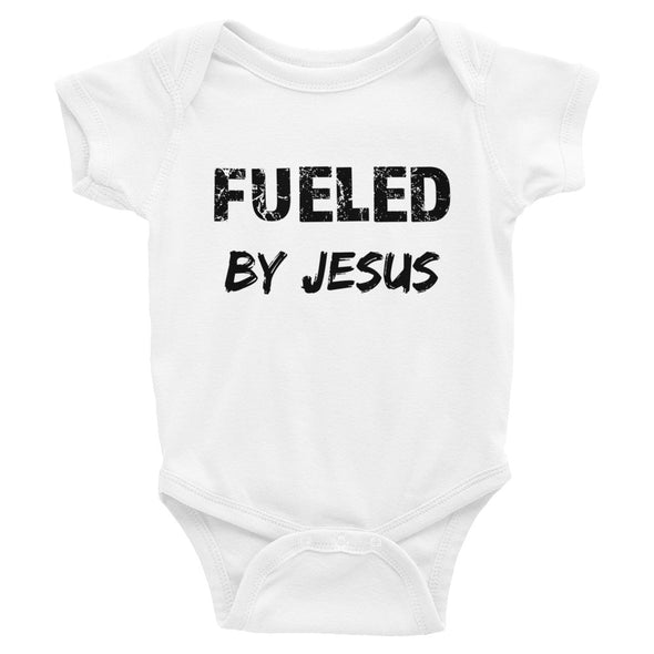 Fueled by Jesus Infant Bodysuit