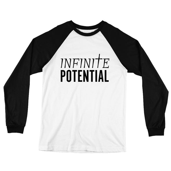 Infinite Potential Long Sleeve Baseball T-Shirt