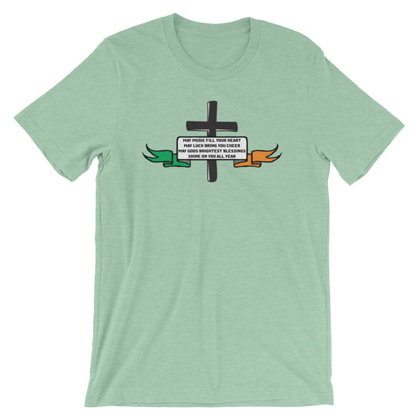Bright Blessings Unisex T-Shirt (St. Patrick's Day Edition)