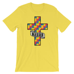 Blessed Autism - distressed Unisex T-Shirt