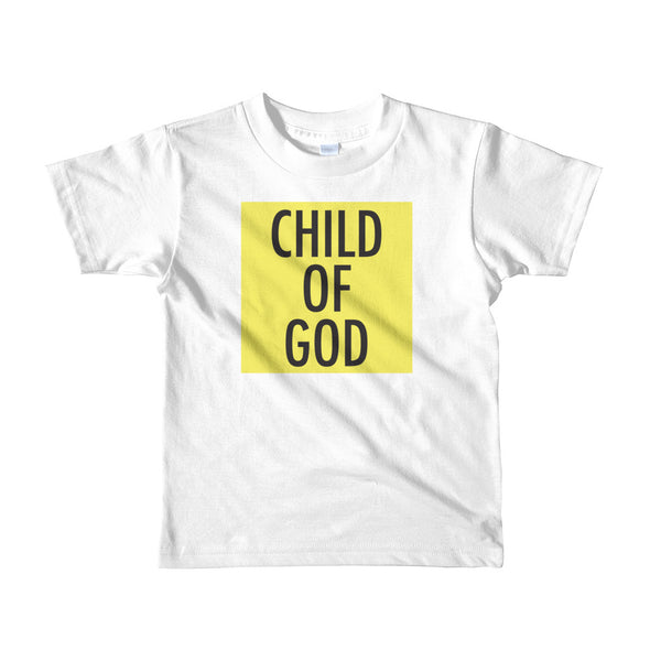 Child of God in Yellow Toddler Tee