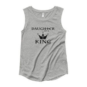 Daughter Of A King Ladies' Cap Sleeve T-Shirt