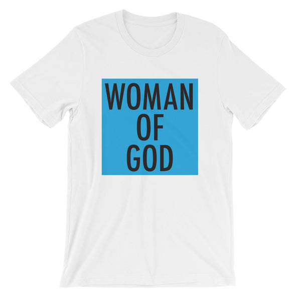 Woman of God in Blue Unisex T-Shirt