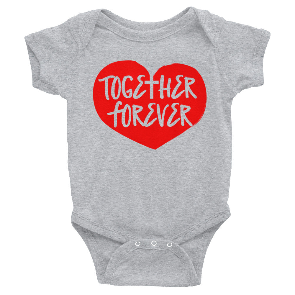 Together Forever Love Infant Bodysuit