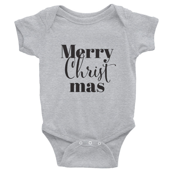 Merry CHRIST mas Infant Bodysuit