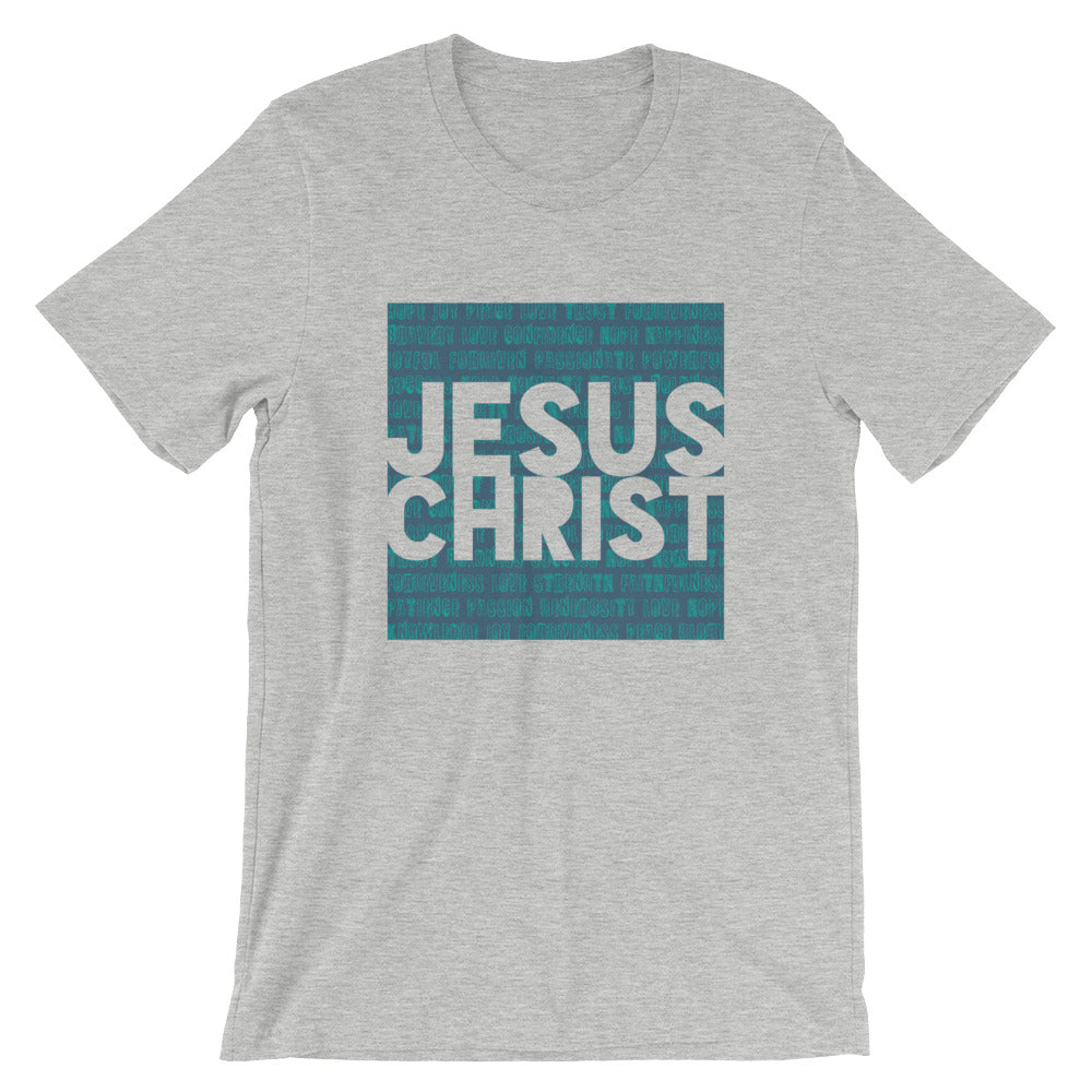 Jesus Christ in Blue Unisex T-Shirt
