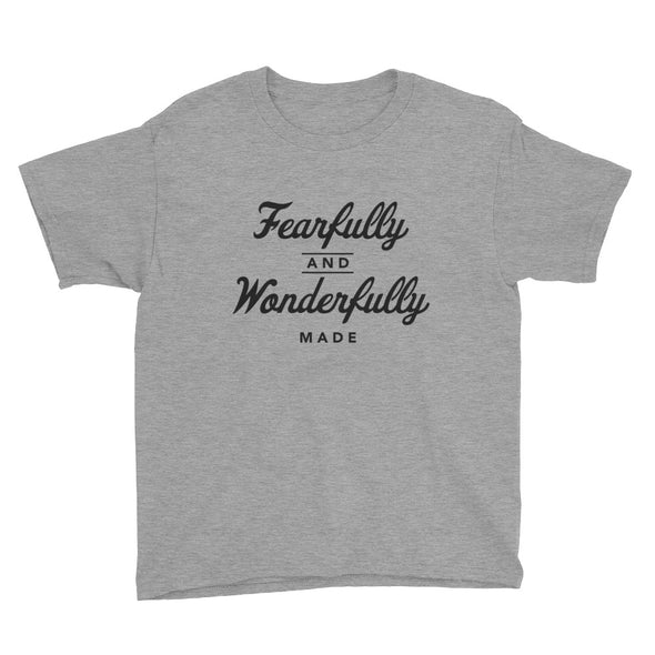 Fearfully and Wonderfully Made Youth Short Sleeve T-Shirt