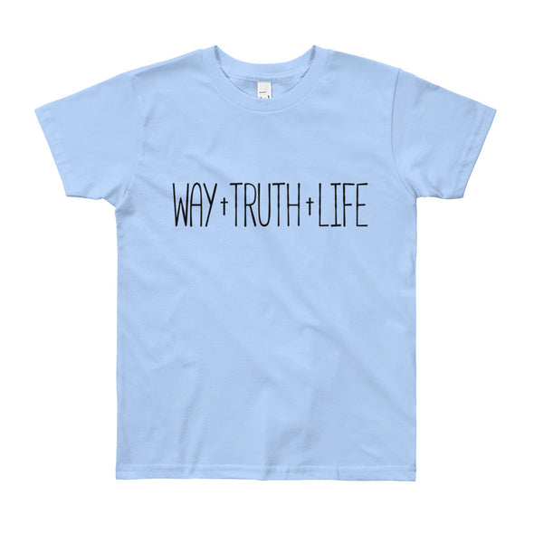 Way Truth Life Youth Short Sleeve T-Shirt