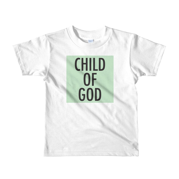Child of God in Mint Toddler Tee