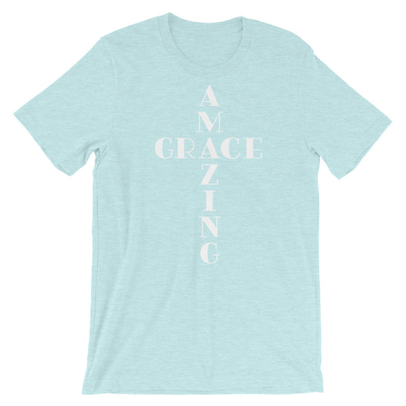 Amazing Grace Cross Unisex T-Shirt