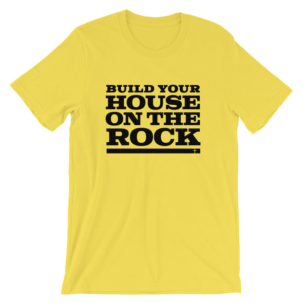 Build on the Rock Unisex T-Shirt