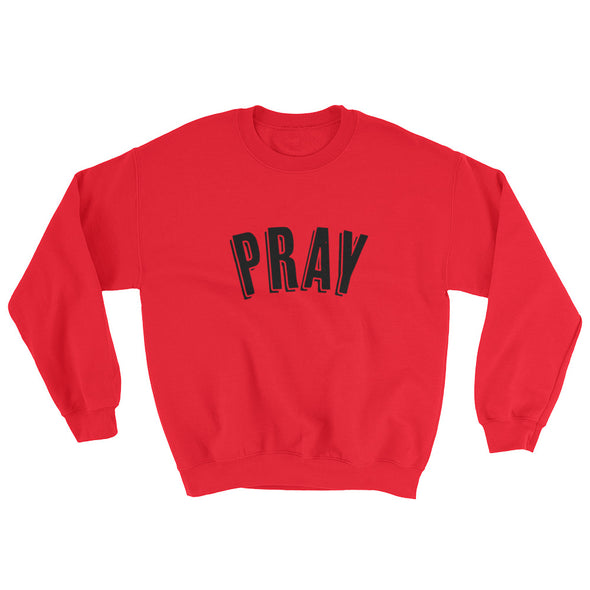 Pray outline Sweatshirt