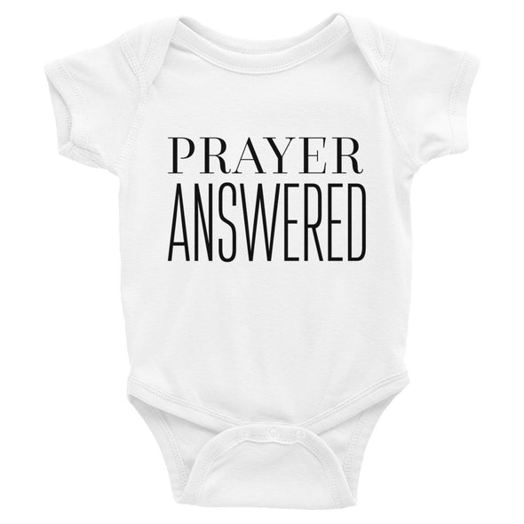 Prayer Answered Infant Bodysuit