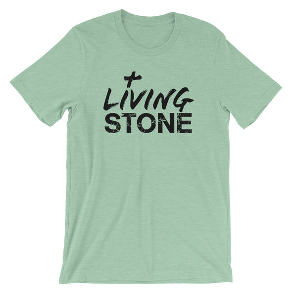 Living Stone Unisex Short Sleeve Jersey T-Shirt with Tear Away Label