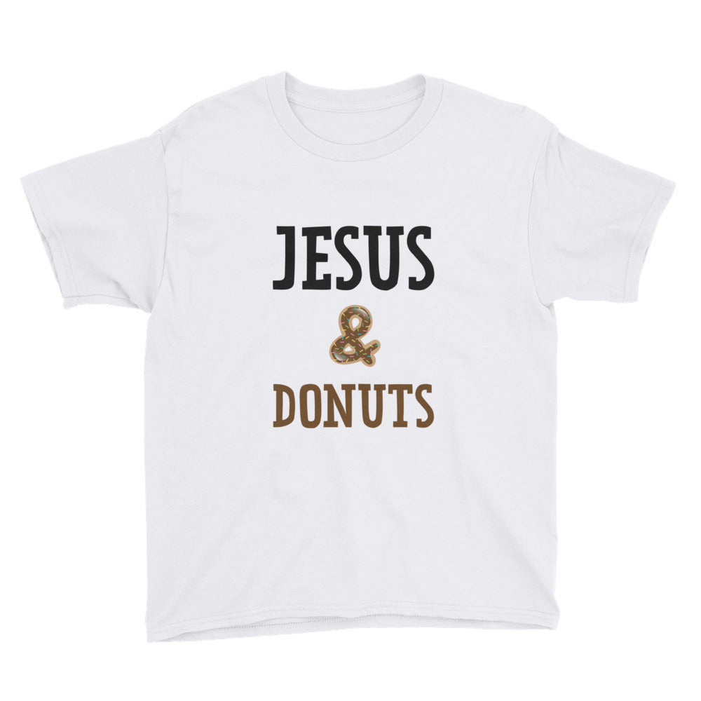 Jesus and Donuts Youth Short Sleeve T-Shirt