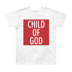 Child of God in Red Youth Tee
