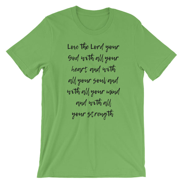 Love the Lord Short-Sleeve Unisex T-Shirt