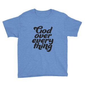 God over Everything Youth Short Sleeve T-Shirt