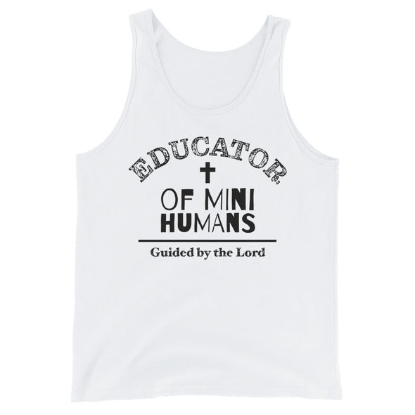 Teacher guided by the Lord Unisex  Tank Top