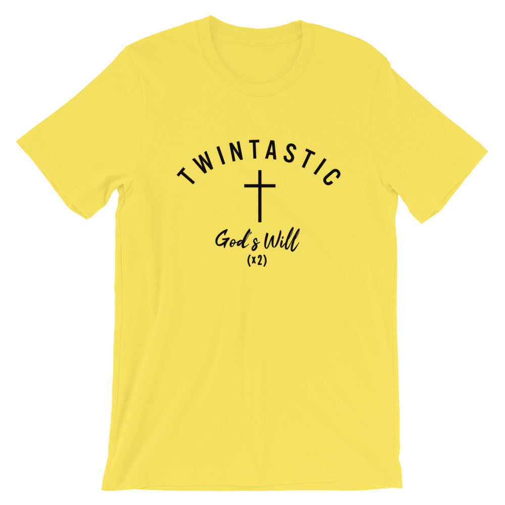 Twintastic - Gods Will Unisex T-Shirt
