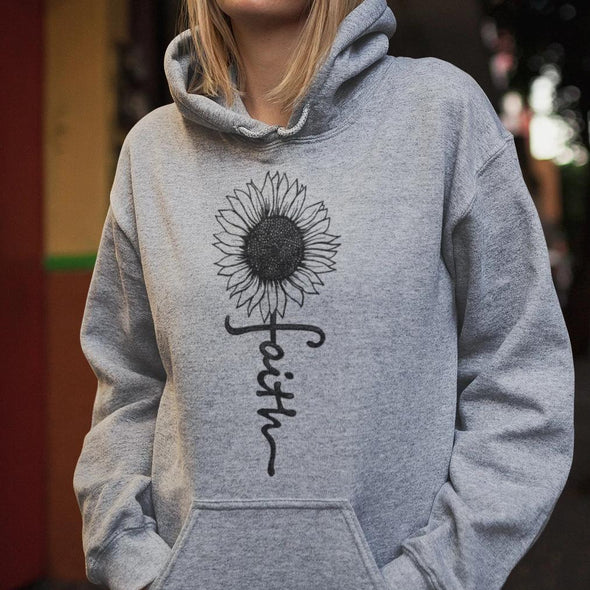 Faith Sunflower Unisex Hoodie