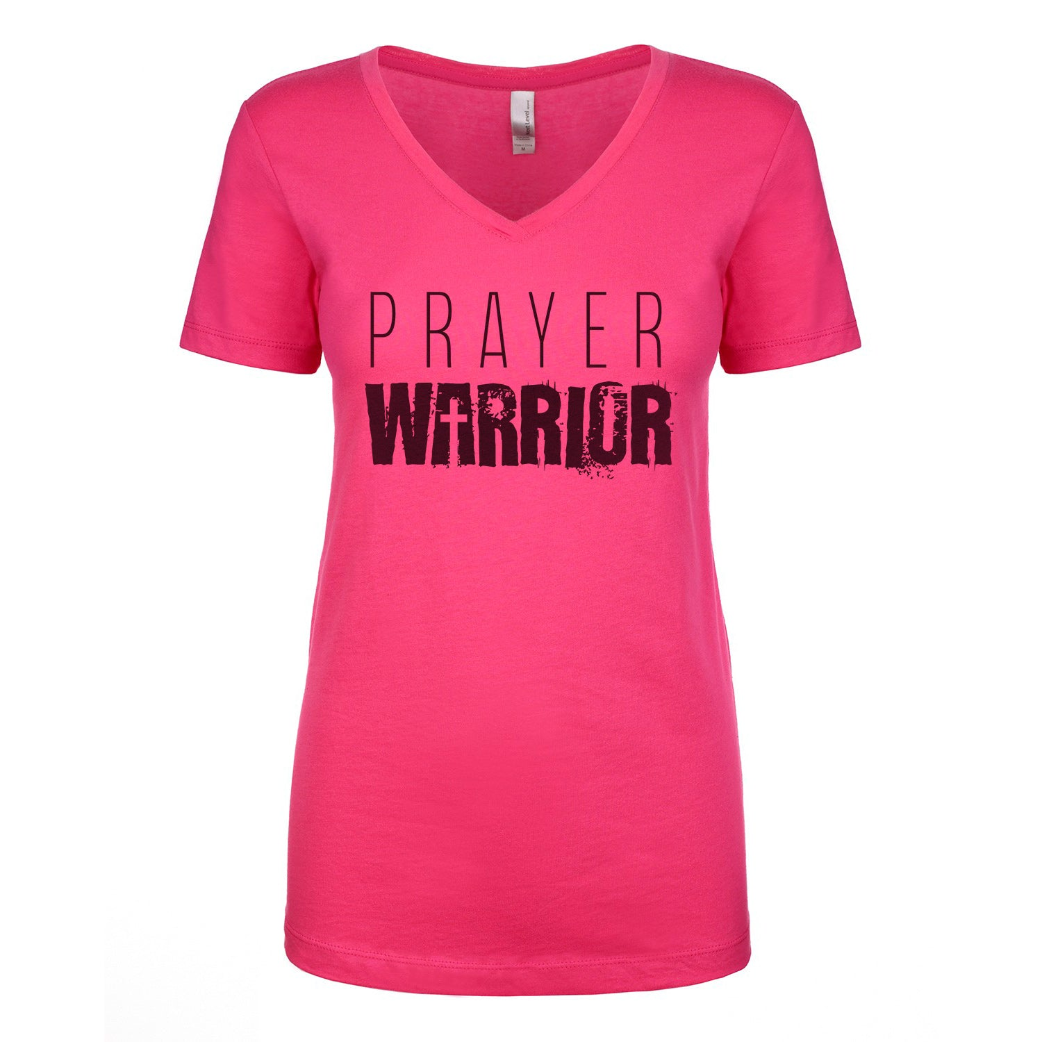 Prayer Warrior Ladies V-Neck