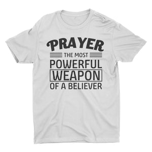 Prayer The Most Powerful Weapon Of A Believer