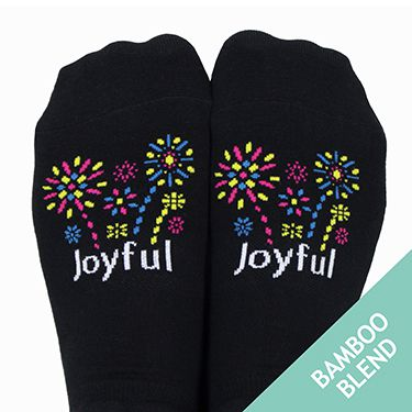 Joyful Bright Skies Socks