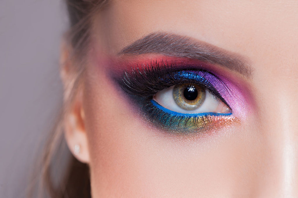 Gurl meets makeup, vibrant eyeshadows, pigmented eyeshadows, how to make eyeshadows pop