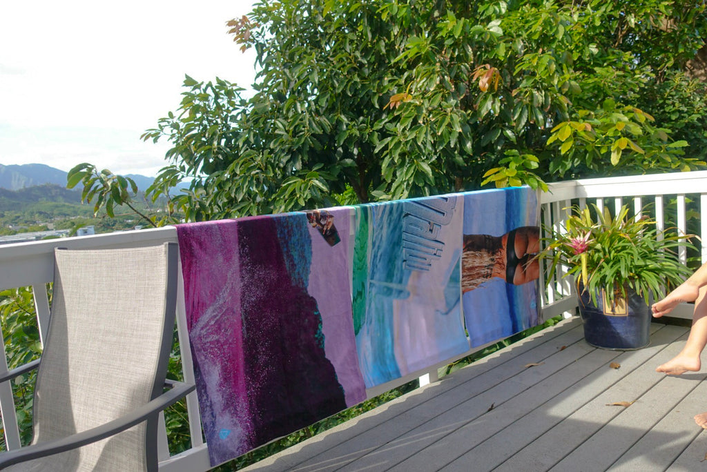 PhotoBeachTowel™ Hang to dry