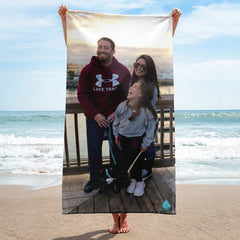 Custom Beach Towel - Print Your Own Photo