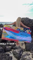 Surf Sunset PhotoBeachTowel™