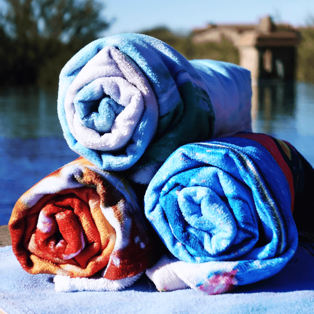 Flower Collection Towel