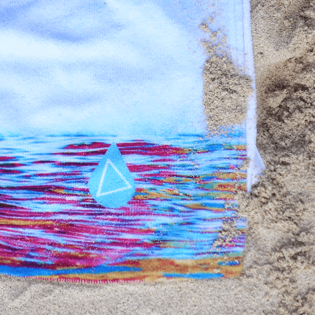 Hawaii Sailboat Beach Towel