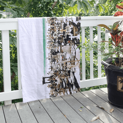 Milky Way Palm Tree Towel