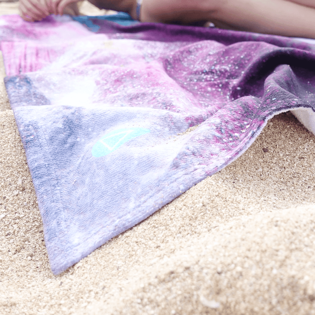 Cloud Flying Sunset Towel