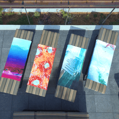 Hawaiian Palm Tree Sunset Towel
