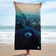 Eyes On L.A. Towel