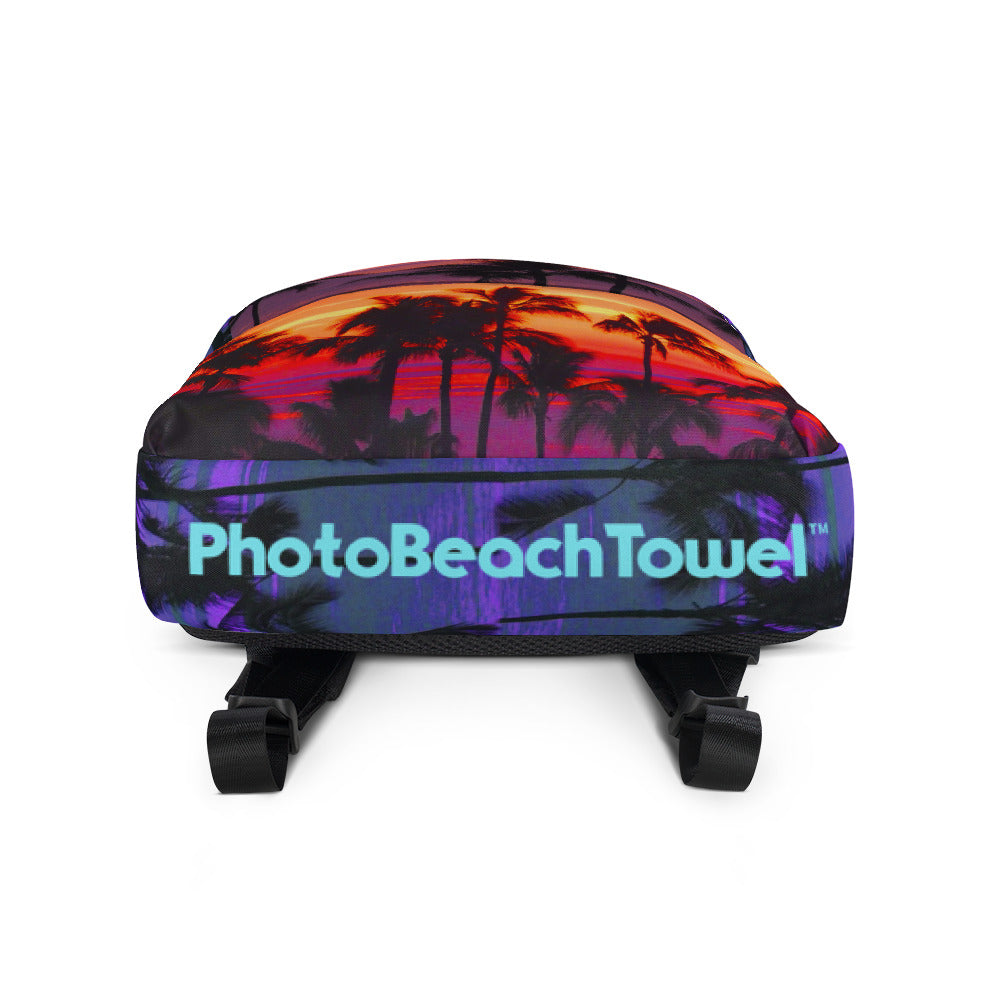 Hawaii Sunset Photo Backpack