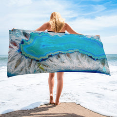 Blue Agate Towel