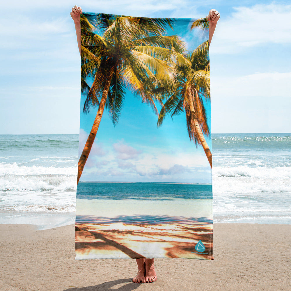 Palm Tree Beach Towel