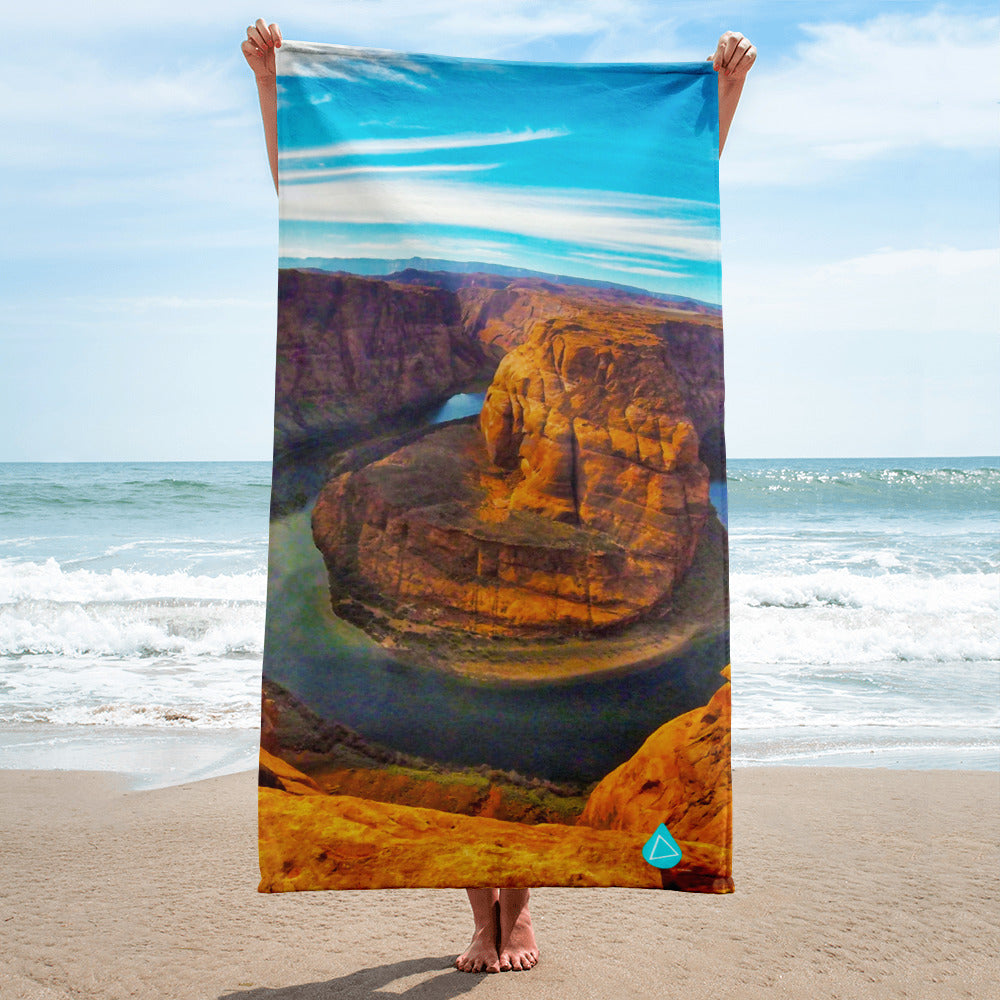 Horseshoe Bend Grand Canyon Towel