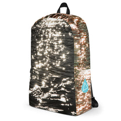 Sparkling Reflection Photo Backpack